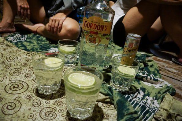 Den Abend mit Gin Tonic ausklingen lassen