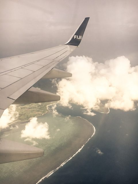 Fiji from the air