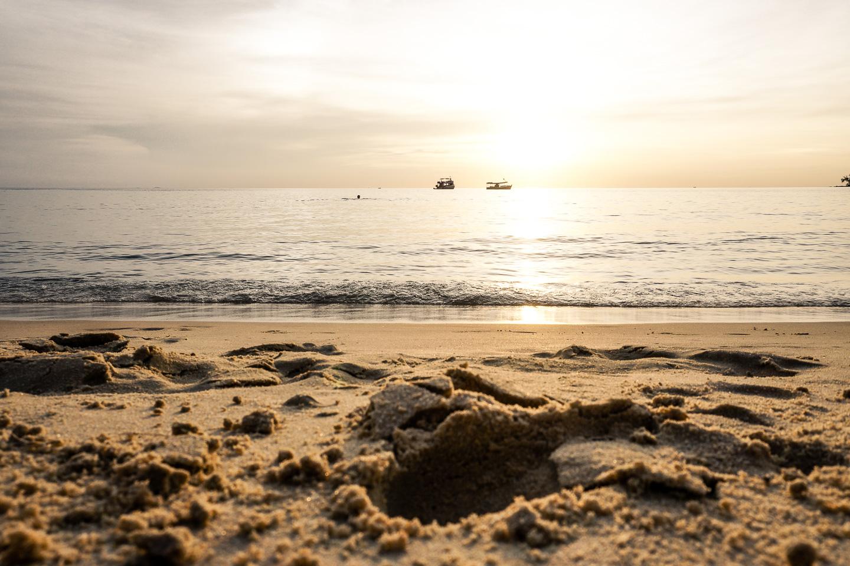 Sunset Lazy Beach