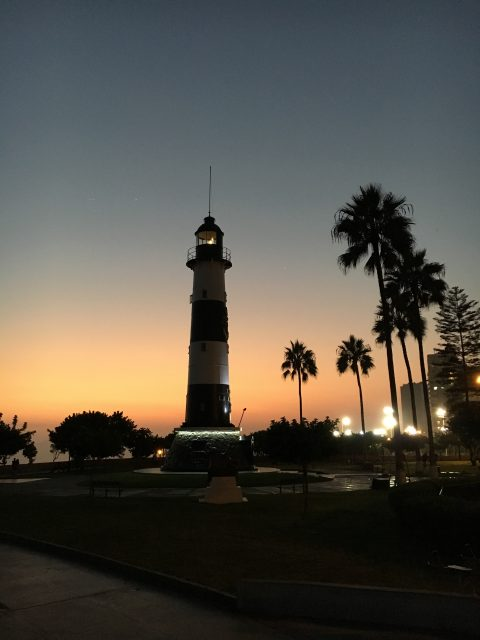 Sunset Lighthouse Malecón