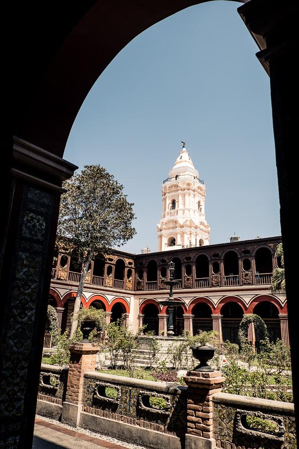 Santa Domingo's garden