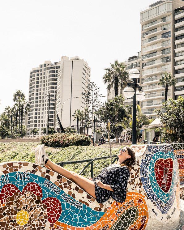Parque del Amor in Lima - Miraflores