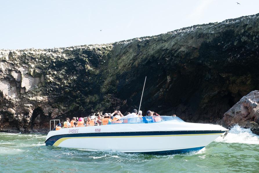 Boat trip to Islas Ballestas
