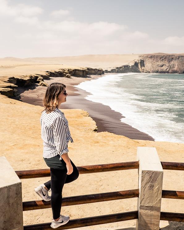 Paracas Marine Reserve Red Sand Beach