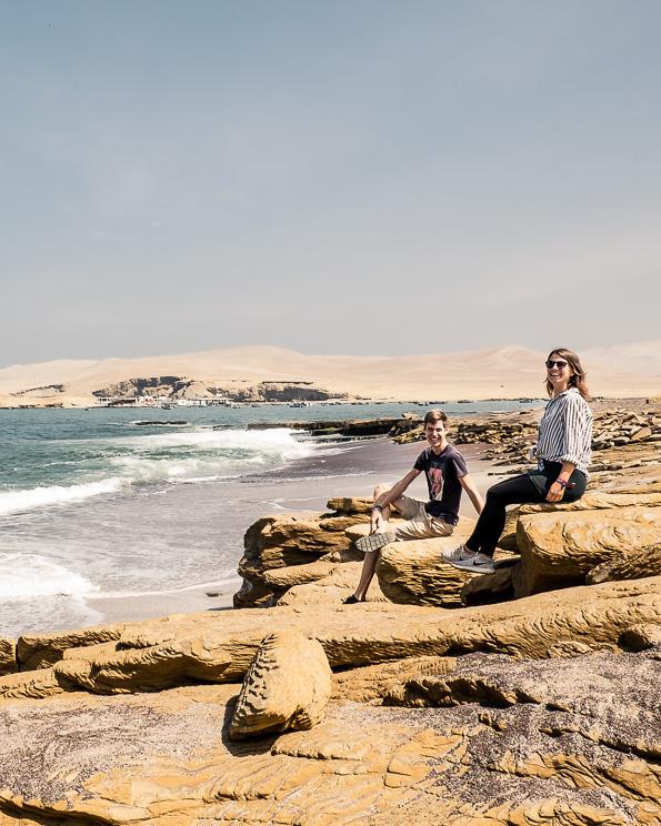 Red Sand Beach Paracas