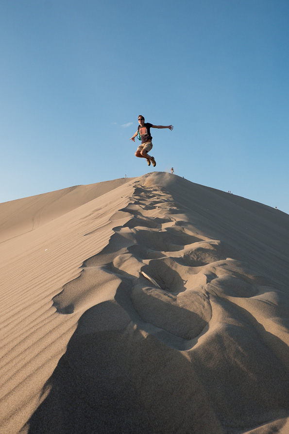 Jumping Huacachina