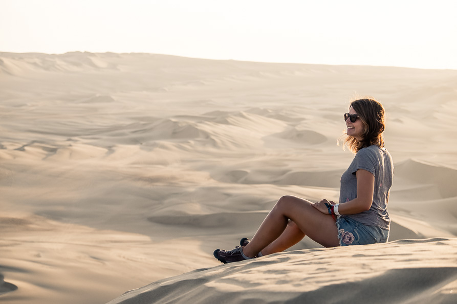 Waiting for the Huacachina sunset