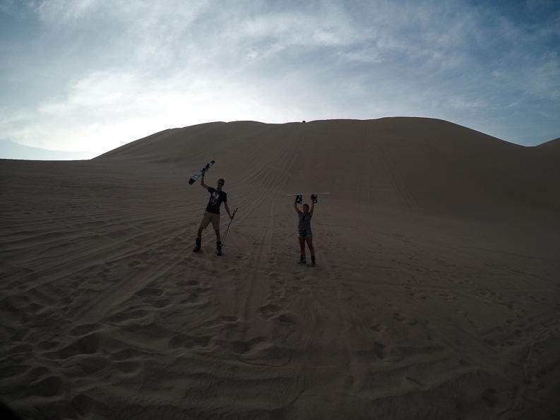 We did it! Sand Snow Sand Ski