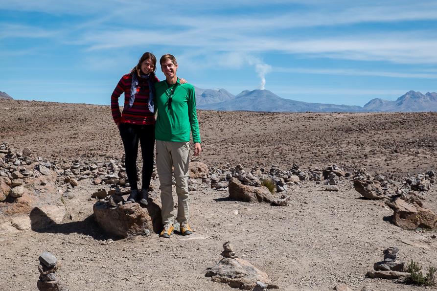 Volcano viewpoint - Colca Canyon
