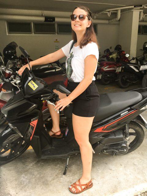Rollerfahren in Chiang Mai
